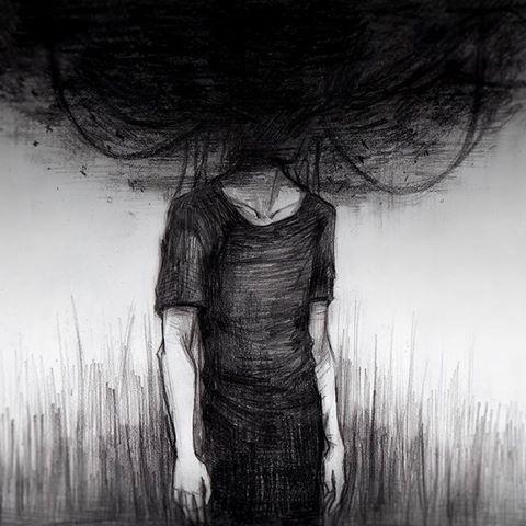 """La dépression une """"solution idéale"""" proposé par notre merveilleux cerveau !"""